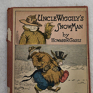 1920 Uncle Wiggily's Snow Man, 1st Edition, Howard Garis, Lang Campbell, Charles Graham Cover