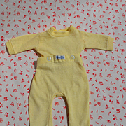 "Vintage Near Mint Nitey Nite Summer Yellow Pajamas for 13""-15"" Dolls, Dy-Dee, Tiny Tears, etc"
