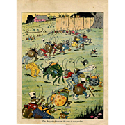 c.1910s  Harrison Cady, March of the Raggedy Bugs, Comic Insects