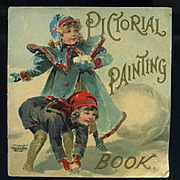 1898 McLoughlin Bro. Painting Book, Nister Images, Children, Dog