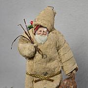 Antique Batting Santa Claus