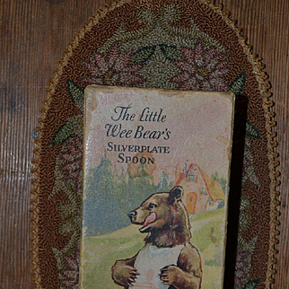 Wee Bear's Silverplate Spoon BOX ONLY