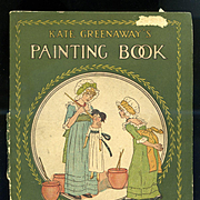 Kate Greenaway Painting Book, Frederick Warne, London & NY
