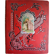 Victorian Scrapbook, German Cards, Advertising, Die Cuts , 27 page sides #1425
