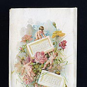 Fairbanks Fairy Soap Trade Card