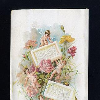 Fairbanks Fairy Soap Trade Card