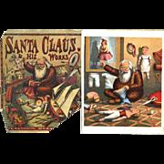 c.1870s Santa Claus and His Works, Thomas Nast, McLoughlin