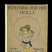 c1916 Josephine and Her Dolls, Color Plates Illustrated by Honor C. Appleton