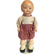 "12"" Dolly Dingle Composition Doll by Horsman, All Original"