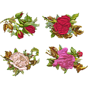 Antique Die Cuts, Silk Covered Roses, Strong Embossing