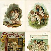 Sunny Land Stories, Harriet Bennett Illustrated Nister Children's Book, Dolls, St. Bernard Dog