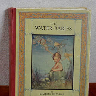 Water Babies, Mabel Lucie Attwell 12 Color Plates, Raphael Tuck Pub. c. 1930's