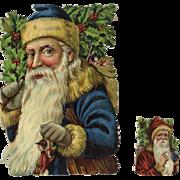 c. 1900 Uncommon Die Cut Santa, Possibly Tuck