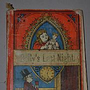 1877 Small Book, Dolly's Last Night, Very Worn Display Copy