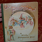 c.1890s Nister Moving Panorama Book, 3-D Pop Up Scenes