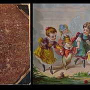 Victorian Scrapbook, Kids, Cats, Dogs, Rabbits, Cherubs, Die Cuts & Scrap, Cards, etc.