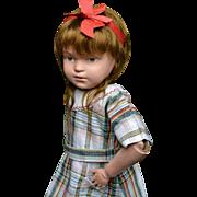 """308 Schoenhut 19"""" Character Girl Doll"""