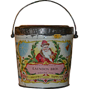 1890s Santa Claus Christmas Candy Container