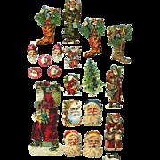 Santa & Christmas Victorian Scrap Pieces