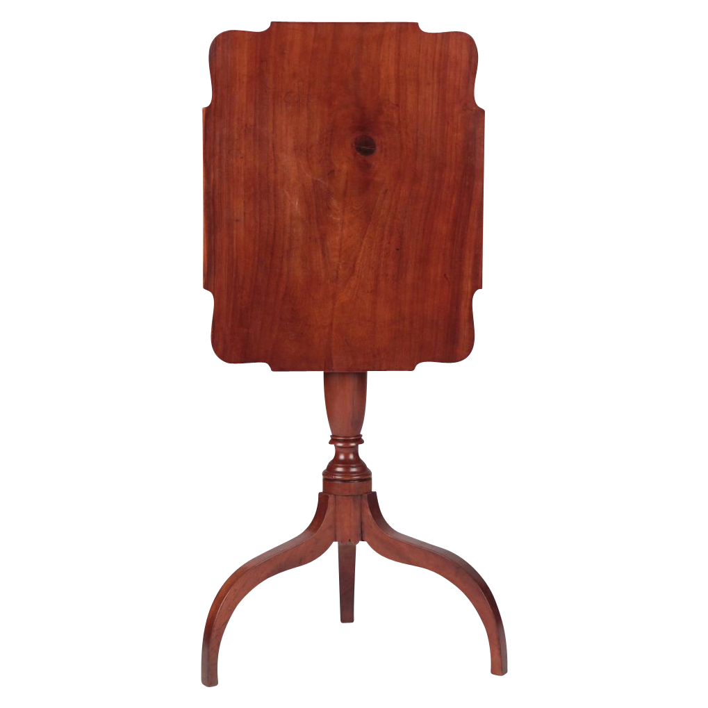 American Antique Candlestand Side Table, Mid-Atlantic States c. 1800