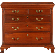 American Chippendale Pennsylvania Chest of Drawers, Cherry c. 1770-80