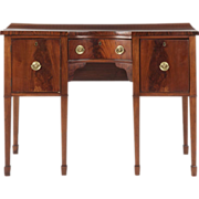 English Antique Brandy Board Sideboard in George III Taste, 19th Century