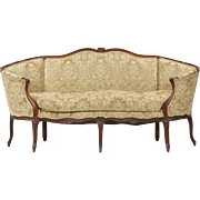 Louis XV French Antique Canape Settee c. 1750