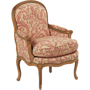 French Antique Bergere Arm Chair c. Late 18th/Early 19th Century