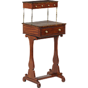 Regency Antique Ladies Writing Desk, 19th Century