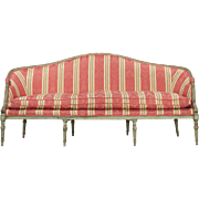 French Louis XVI Antique Settee Sofa Canape, 18th Century