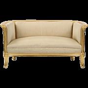 Antique Art Nouveau Giltwood Canape Sofa attr. Louis Majorelle