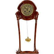 Maurice Dufrene Art Nouveau Table Mantel Clock c. 1910