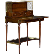Regency Period Antique Writing Desk in Louis XVI style, England c. 1820-30