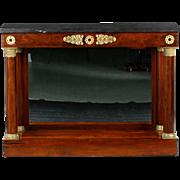 Fine French Empire Antique Pier Table Console, 19th Century