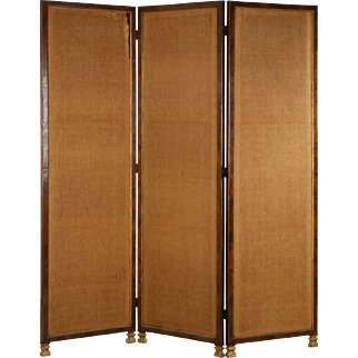 English Regency Style Antique Room Screen Divider, 19th Century