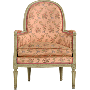 French Louis XVI Period Antique Arm Chair circa 1785
