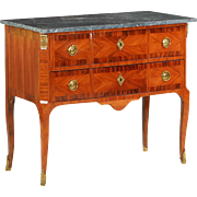 19th Century Antique French Commode Chest of Drawers