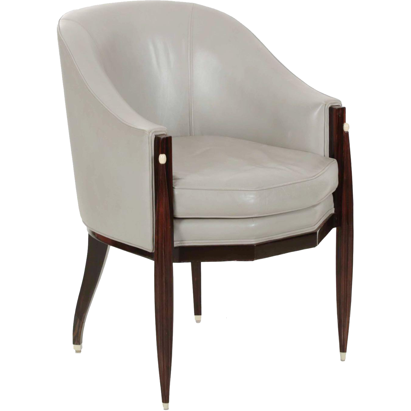 Art deco style chairs - Fine Pair Of Art Deco Style Vintage Arm Chairs By Interior Crafts Chicago