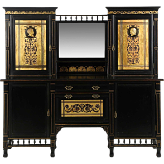 Aesthetic Movement Antique Server Sideboard, England c. 1880