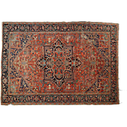 Antique Heriz Herez Persian Rug Carpet, early 20th century