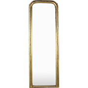 Very Large Regency Giltwood Antique Floor-to-Ceiling Mirror, 19th Century