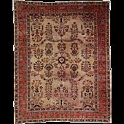 Fine Persian Room Size Sarouk Rug, c. 1920