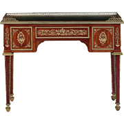 French Neoclassical Antique Writing Desk Bureau Plat in Louis XVI taste