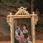 Lovely Miniature Dollhouse Frame by Erhard & Söhne