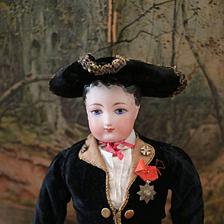 Interesting French F.G. Gentleman Poupée