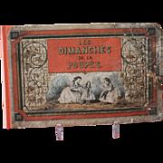 "Rare French Book ""Les Dimanches De La Poupee"""
