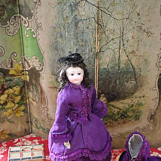 Lovely French Fashion Doll Marked with B.S.