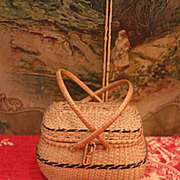 Early Basket for Fashion, China, Paper Mache Dolls