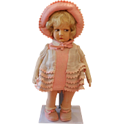 "Lovely Lenci Felt Doll ""300 Series"""