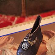 "Single French Leather Shoe Size ""9"""